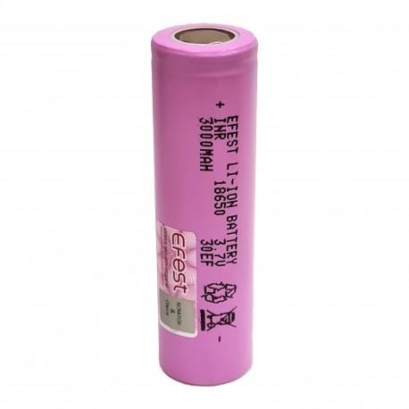 Bateria Efest 18650 3000mah 30EF Pink