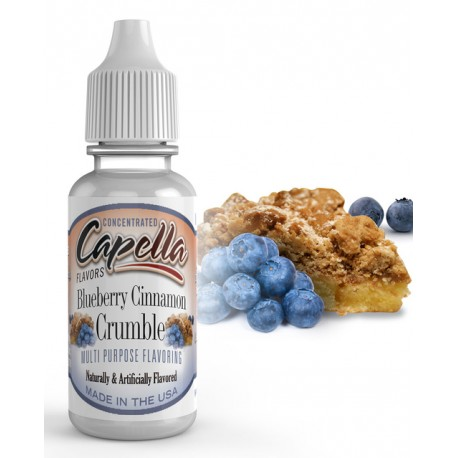 CAP Blueberry Cinnamon Crumble