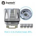 Coil Joyetech ProC1-S DL 0.25 Ohm (eVic Primo Mini, ProCore Aries) 5 pack