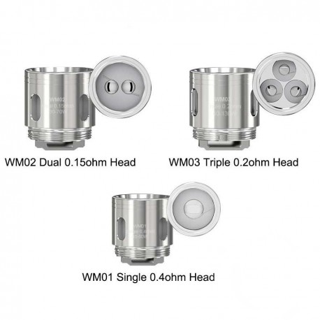 GNOME WM02 0.15 ohm coils (5 pack)