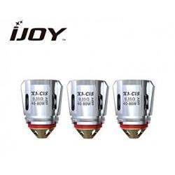 Coil IJOY X3-C1S 0.35ohm para Captain X3/ Avenger