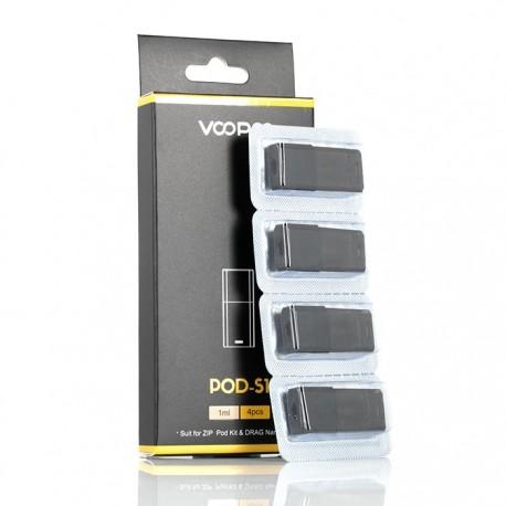 Voopoo Drag Nano Pod-S1 Cartridge 4/Pack1.8ohms