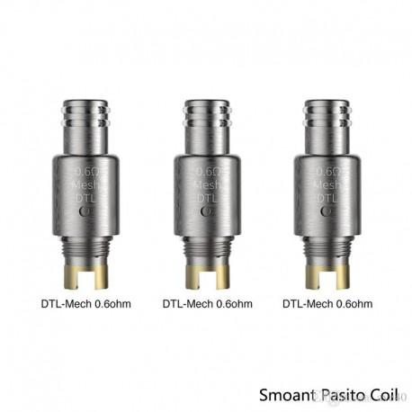 Smoant Pasito DTL Mesh 0.6ohm Coil head 3/Pack