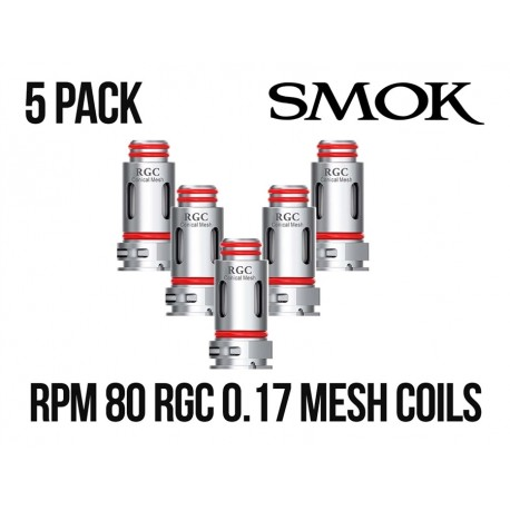 Smok RPM80 RGC Conical Mesh 0.17ohm Coil head 5/Pack