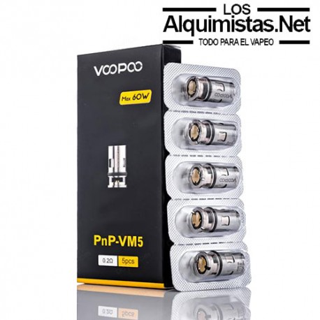 Voopoo PnP-VM5 0.2ohm Coil head 5/Pack
