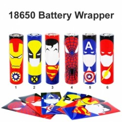 Wrapper 18650 Battery Skin 1pcs