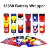Wrapper 18650 Battery Skin 1pcs